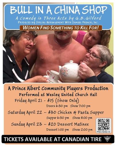 Prince Albert Community Players present...